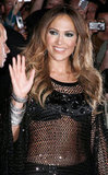 Jennifer Lopez opted for a see-through ensemble at an NYC event in March 2007.