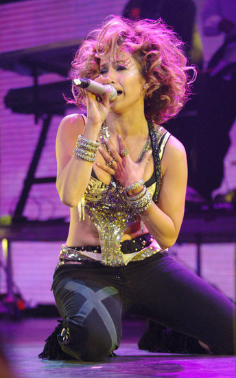 J Lo got on the floor at the Zootopia show in May 2005.