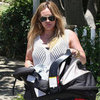 Hilary Duff Shops With Luca Comrie | Pictures