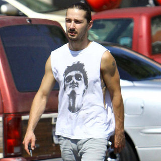 Shia LaBeouf at Home Depot Pictures