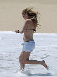 Avril Lavigne Shows Bikini Love For London