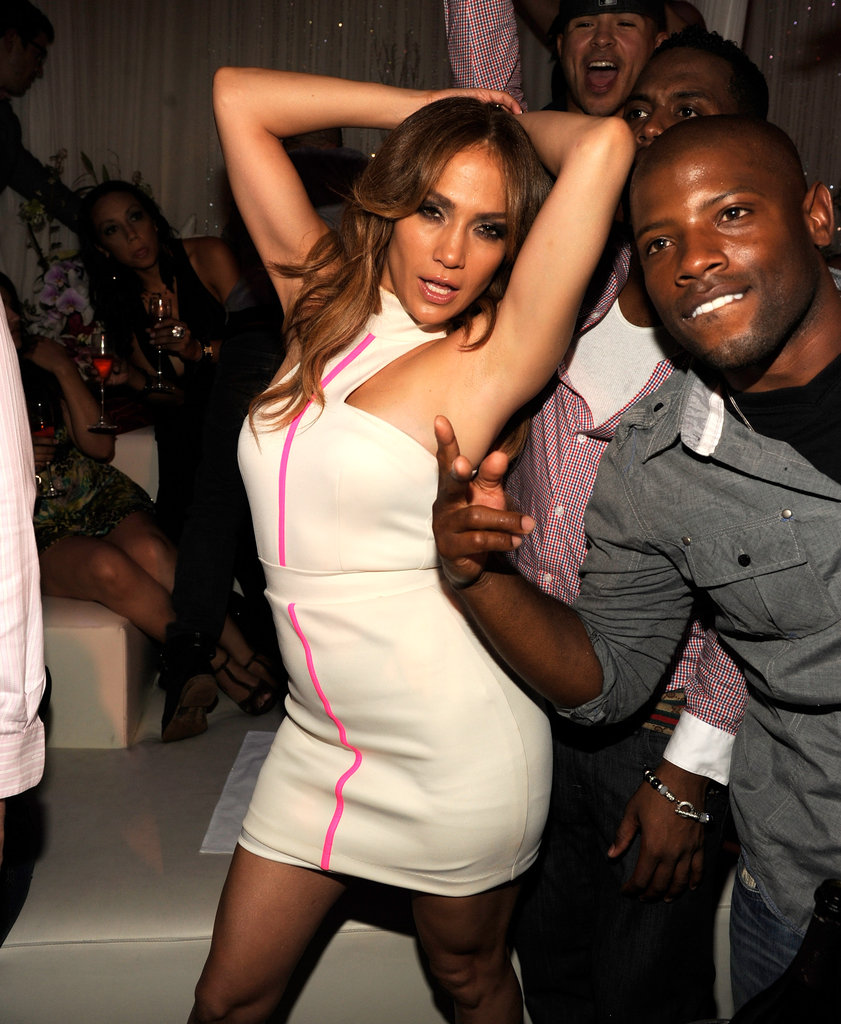 Jennifer Lopez showed her hot dance moves in Las Vegas in September 2011.
