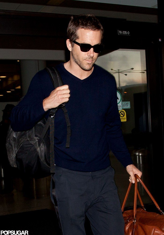Ryan Reynolds traveled to LA.