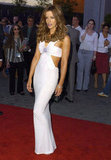 Kate Beckinsale showed some skin at the May 2004 LA premiere of Van Helsing