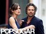 Keira Knightley and Mark Ruffalo shot a scene for Can a Song Save Your Life?.