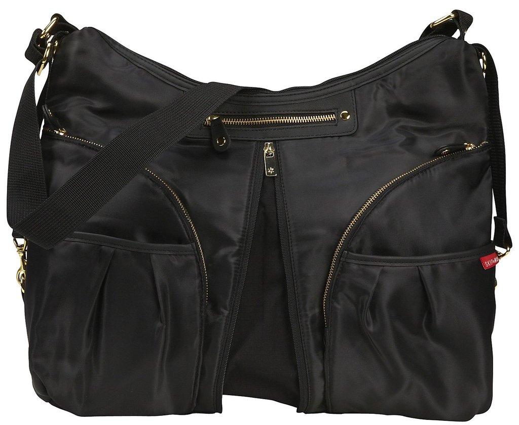 Skip*Hop Black Versa Diaper Bag ($70)