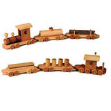 Wooden Train Set ($170)