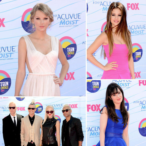 2012 Teen Choice Awards Celebrity Red Carpet Pictures
