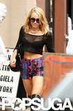 Miley Cyrus Shows Her Own Style on the Streets of Philadelphia