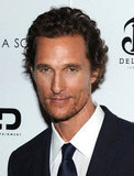 Matthew McConaughey posed at a screening of Killer Joe.