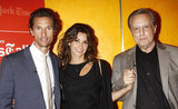 Matthew McConaughey, Gina Gershon, and William Friedkin smiled together at the Killer Joe screening in NYC.