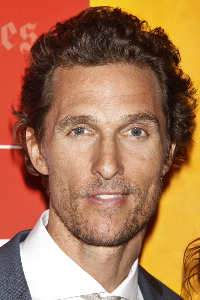 Matthew McConaughey showed a smile at the Killer Joe screening in NYC.