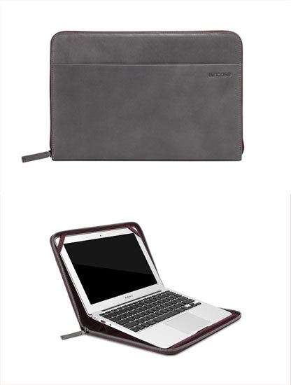 InCase Leather Sleeve For MacBook Air ($130)