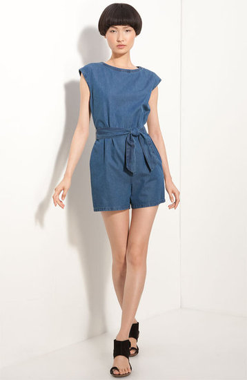 Pair this denim romper with black, ankle-strap sandals for a slightly more sophisticated feel, or throw on your favorite pair of Chucks for a more retro look. A.P.C. Denim Romper ($164, originally $275)