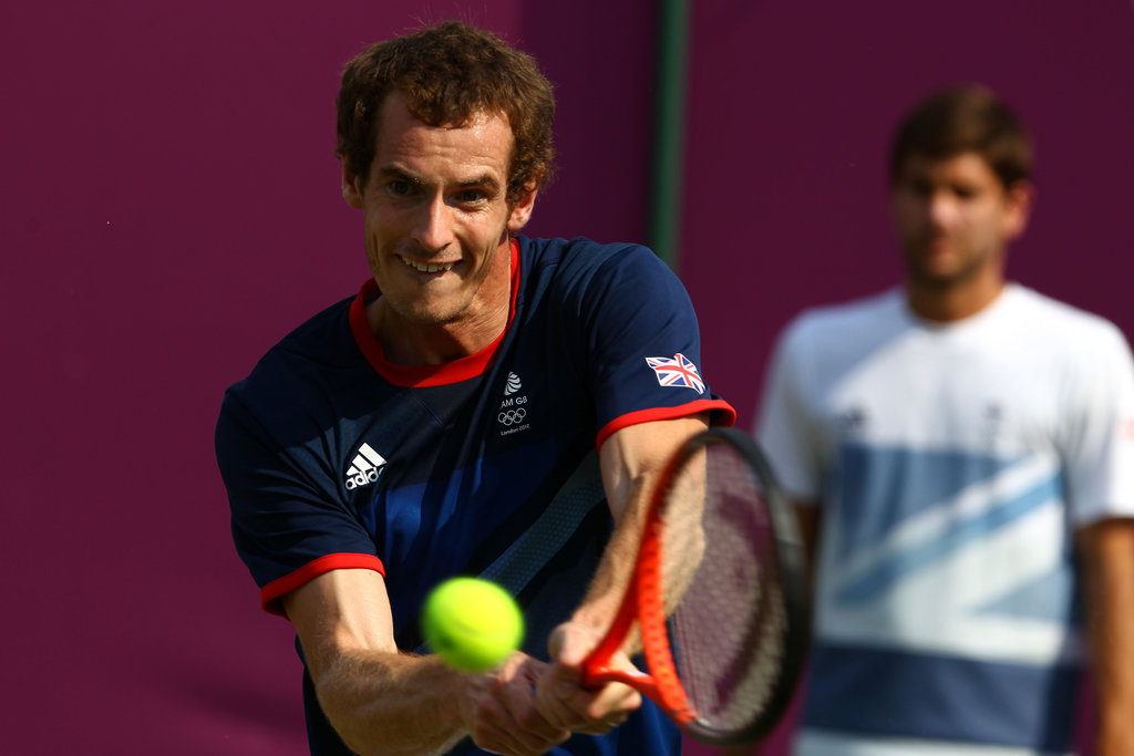Many Brits are hoping that the home advantage will take Andy Murray to gold.