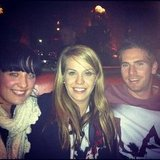 Emma, Kylie and Beau caught up for drinks. Source: Instagram user emma_osh