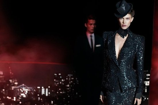 Donna Karan Fall 2012 Ad Campaign