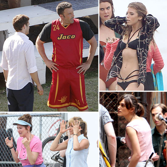 Ben Affleck, Jennifer Aniston, Keira Knightley, and More Stars on Set!