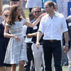 Kate Middleton Pictures Playing Ping Pong Pre-Olympics With Prince William and Prince Harry