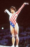 Mary Lou Retton at the 1984 Olympics