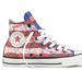 Update your Chucks with a spirited twist. This collection is dedicated to national pride, with designs for the US, Britain, Brazil, Germany, Italy, Jamaica, and China.