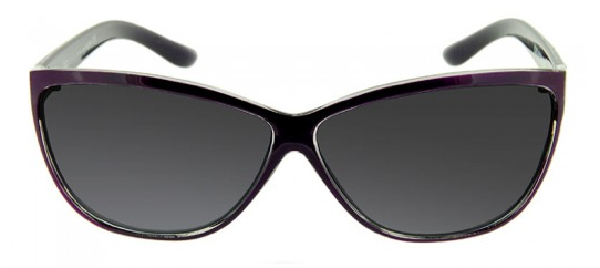 These cat-eye sunglasses are sure to keep you looking cool all day long — plus, we love the subtle purple hue. GlassesUSA X-Ray GL 1000 Purple Sunglasses ($92)