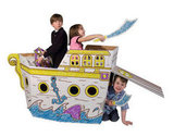 Box Creations Pirate Ship Playhouse ($30)