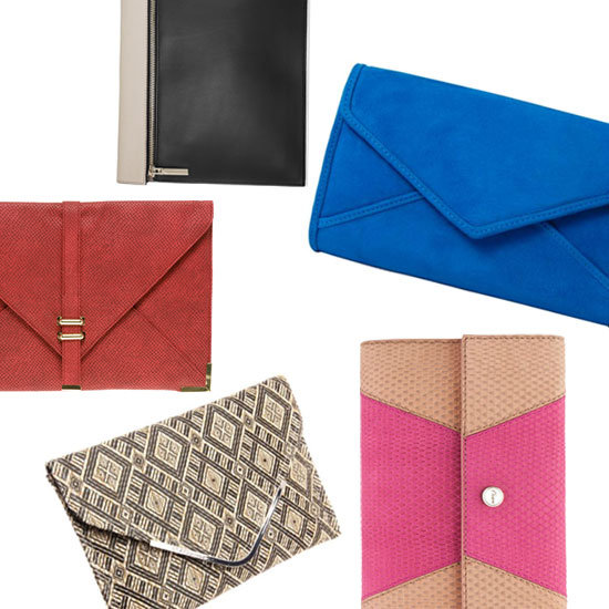 Accessory of the Week: Day-to-Night Envelope Clutches