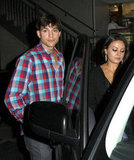 Ashton Kutcher and Mila Kunis went on a date.