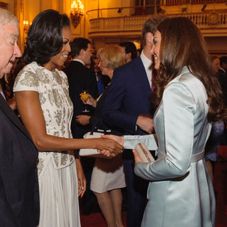 Kate Middleton 2012 Olympics Reception Pictures