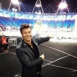 Ryan Seacrest covered the opening ceremonies from on the ground. Source: Instagram user ryanseacrest