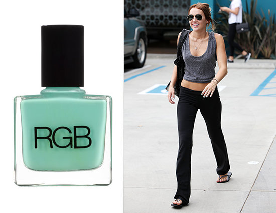 RGB Nail Polish in Minty