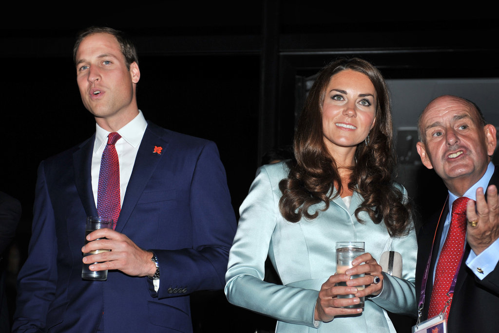 Kate Middleton and Prince William at the Olympics Opening Ceremony!