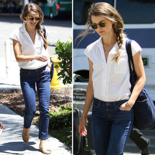 Keri Russell's Summer Fashion