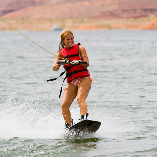 Water Skiing or Wakeboarding