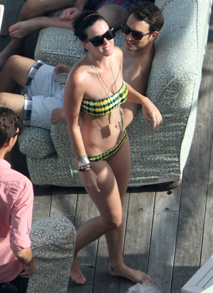 Katy Perry showed off her fit figure in Miami in July 2012.