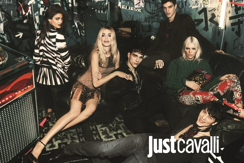 Just Cavalli Fall 2012 Ad Campaign