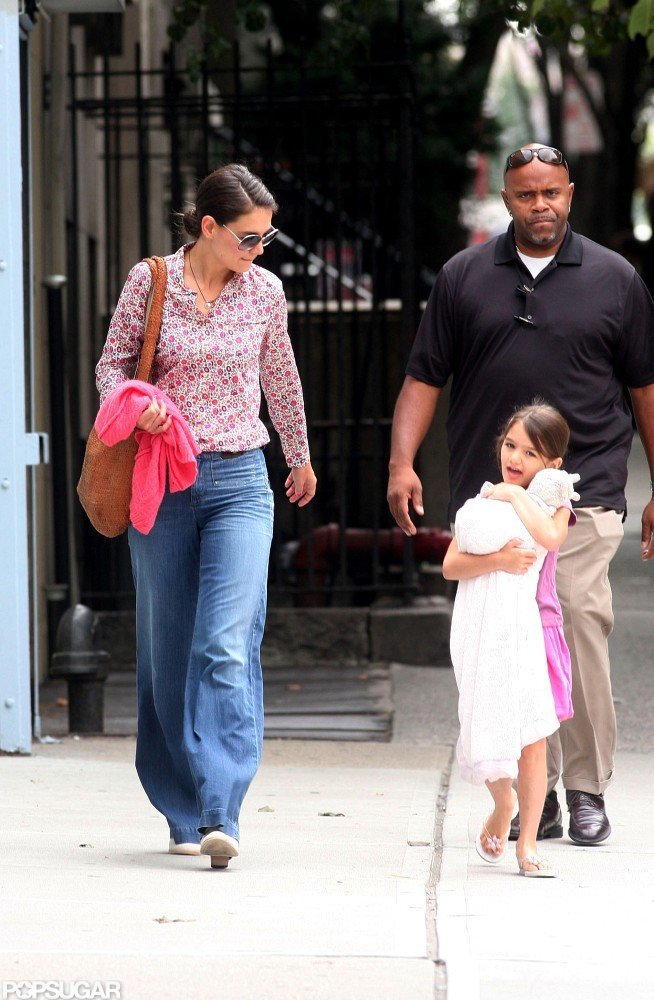 Katie Holmes and Suri Cruise explored Manhattan.