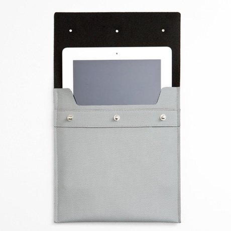Poketo Three Dots iPad Case in Gray ($48)