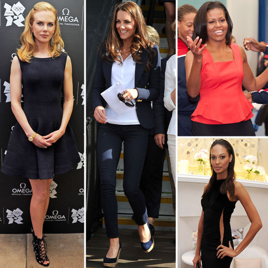 Celebrity Style at the 2012 London Olympics: Kate Middleton, Michelle Obama, Nicole Kidman and More