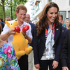 Kate Middleton Pictures at Olympics With Prince Harry Holding Toy Kangaroo