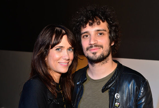 Kristen Wiig and boyfriend Fabrizio Moretti attended the Lexus Laws of Attraction art exhibit.