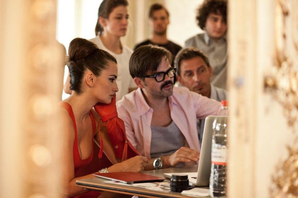 Penélope Cruz was on the set of the Campari 2013 calendar shoot. Source: Facebook user Campari