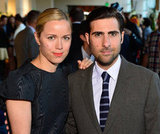 Brady Cunningham and Jason Schwartzman stayed side by side at an event in California.