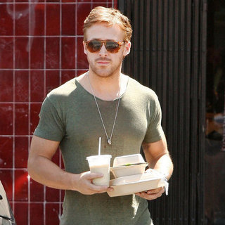Ryan Gosling Eats Vegan Food