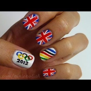 Best Olympic Nail Art Tutorials