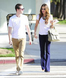 Sofia Vergara and a friend went on a shopping trip in LA.