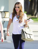 Sofia Vergara wore sunglasses for a stroll in LA.