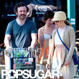 Rachel McAdams and Michael Sheen shopped at Whole Foods.