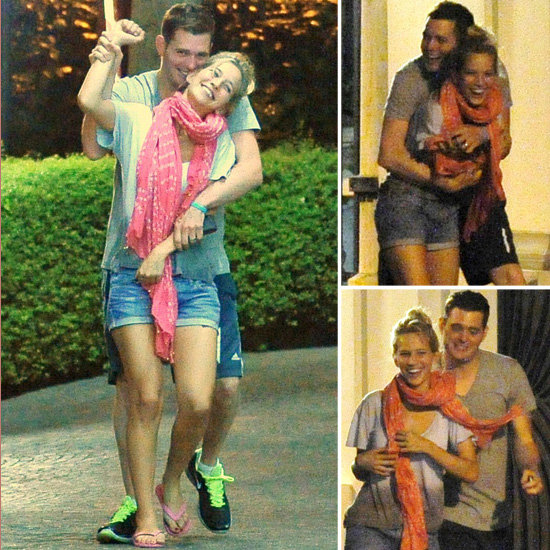Michael Bublé and Luisana Lopilato Are Romantic in Rome